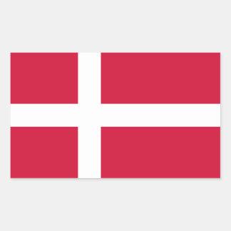 Denmark – Danish National Flag Rectangular Sticker