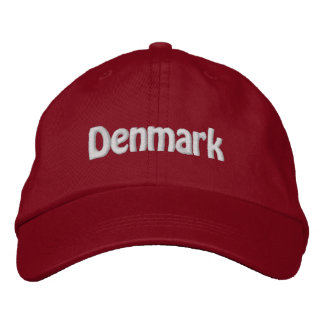 Denmark. Danish Pride! Embroidered Hat