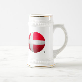 Denmark - De Rød-Hvide Football Beer Steins