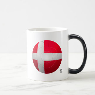 Denmark - De Rød-Hvide Football Magic Mug