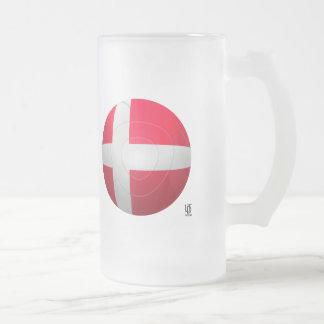 Denmark - De Rød-Hvide Football Coffee Mug