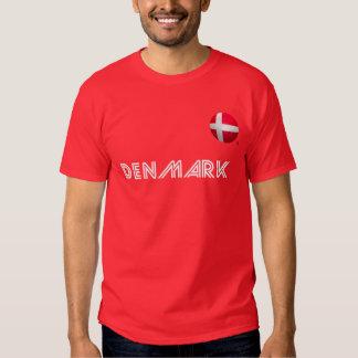 Denmark - De Rød-Hvide Football T-shirt