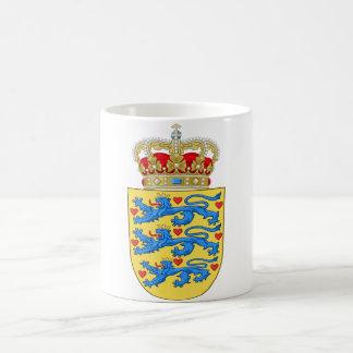 denmark emblem coffee mug