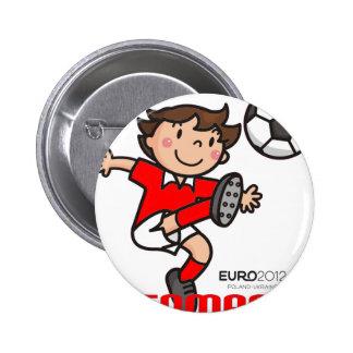 Denmark - Euro 2012 Buttons