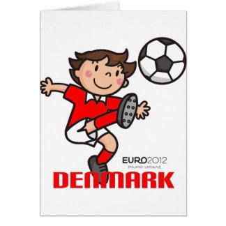 Denmark - Euro 2012 Greeting Card