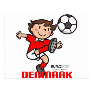 Denmark - Euro 2012 Postcard