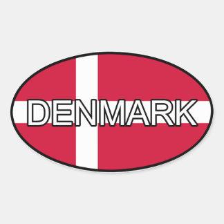 Denmark Euro Sticker