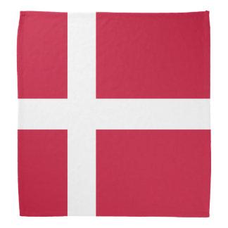 Denmark Flag Bandana