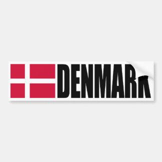 Denmark Flag Bumper Sticker