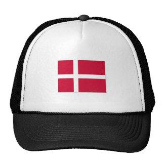 Denmark Flag Mesh Hat