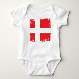 Denmark Flag, Danish Cool Baby cloth Baby Bodysuit