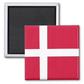 Denmark Flag DK Square Magnet