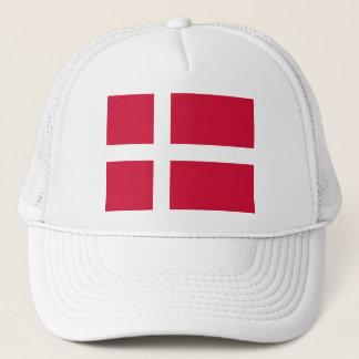 Denmark Flag DK Trucker Hat