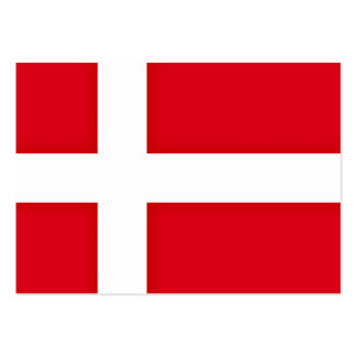 Denmark Flag Graphic Pack Of Chubby Business Cards