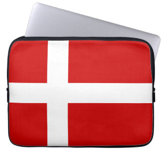 Denmark Flag Laptop Sleeve