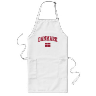 Denmark + Flag Long Apron