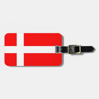 Denmark Flag Luggage Tag! Luggage Tag