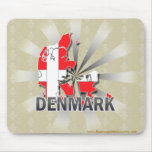 Denmark Flag Map 2.0