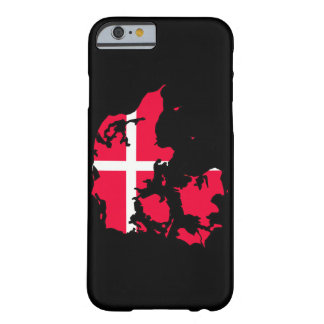 denmark flag map barely there iPhone 6 case