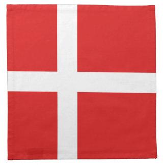 Denmark Flag Napkin
