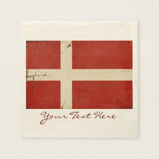 Denmark Flag Party Napkins Paper Napkins