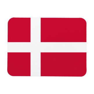 Denmark Flag Rectangular Photo Magnet