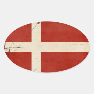 Denmark Flag Stickers