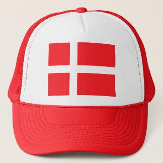 Denmark, flag trucker hat