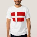Denmark Flag Tshirts