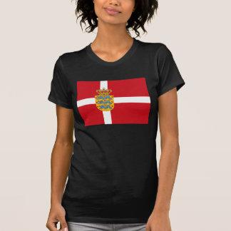 Denmark Flag w COA T-shirt