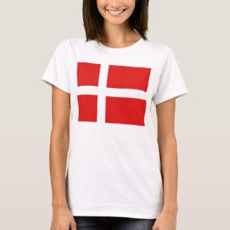 Denmark Flag x Map T-Shirt