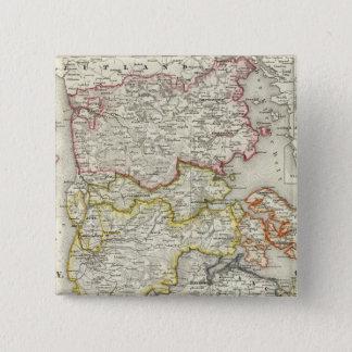 Denmark, Germany 2 15 Cm Square Badge