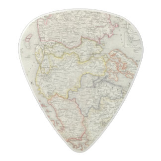 Denmark, Germany 2 Acetal Guitar Pick