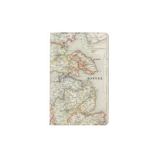 Denmark, Germany 2 Pocket Moleskine Notebook