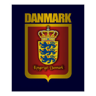 """Denmark Gold"" Posters & Prints"
