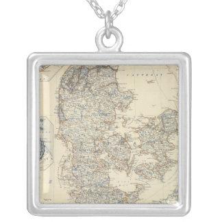 Denmark, Hanover, Brunswick, Mecklenburg Silver Plated Necklace