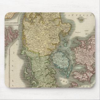 Denmark, Iceland, Feroe Islands Mouse Mat