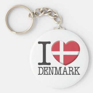 Denmark Key Ring