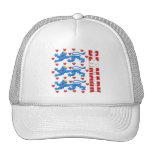 Denmark lions logo Danmark royal crest Trucker Hat