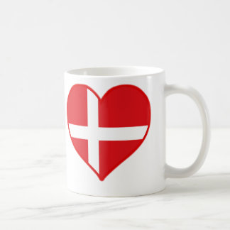 Denmark Love Coffee Mug