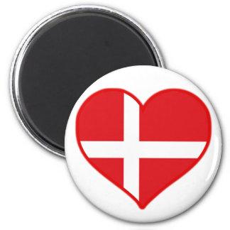 Denmark Love Magnet