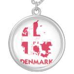 DENMARK MAP NECKLACES