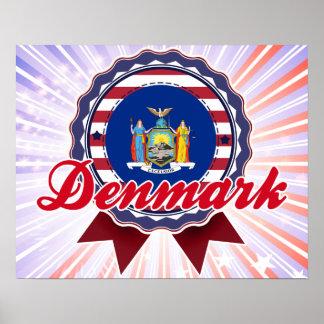 Denmark, NY Poster
