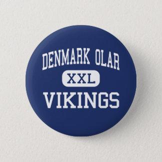 Denmark Olar - Vikings - High - Denmark 6 Cm Round Badge