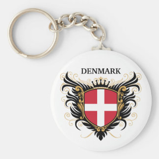 Denmark [personalize] key ring