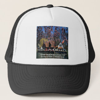 Denmark Photo & Famous Proverb Trucker Hat