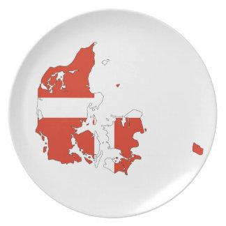 Denmark Plate
