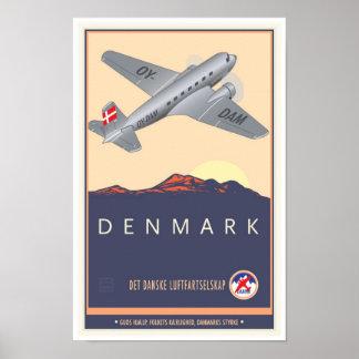 Denmark Poster