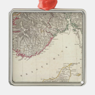 Denmark, pt of Norway Christmas Ornament