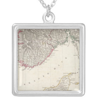 Denmark, pt of Norway Silver Plated Necklace
